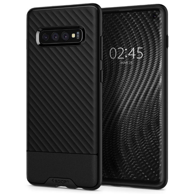 Puzdro Spigen Core Armor pre Samsung Galaxy S10 Plus - G975F, čierne