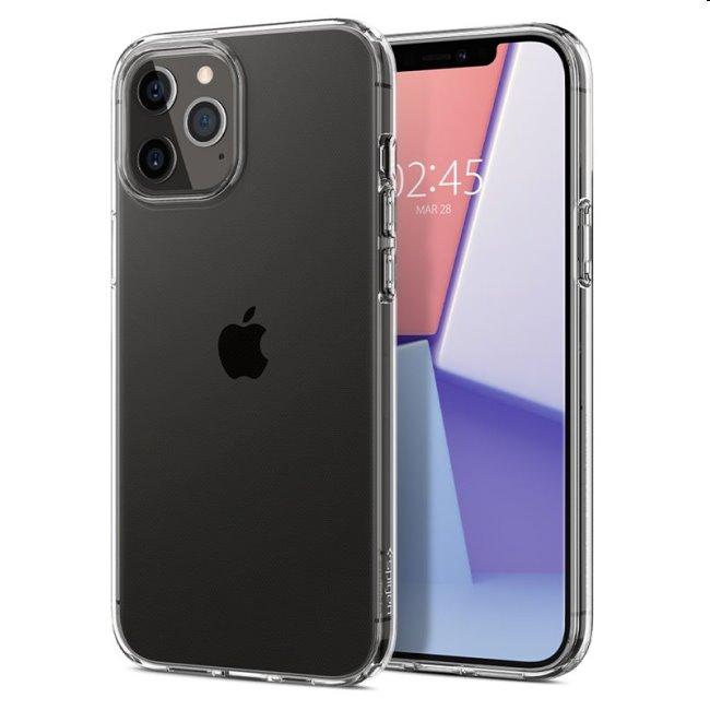 Puzdro Spigen Crystal Flex pre iPhone 12/12 Pro, Clear