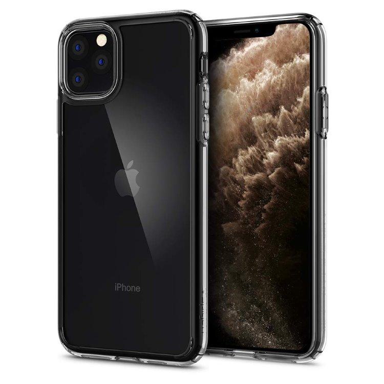 Puzdro Spigen Crystal Hybrid pre Apple iPhone 11 Pro, Clear