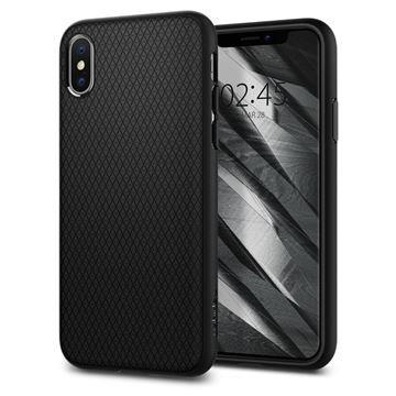 Puzdro Spigen Liquid Air pre iPhone X/XS, Black