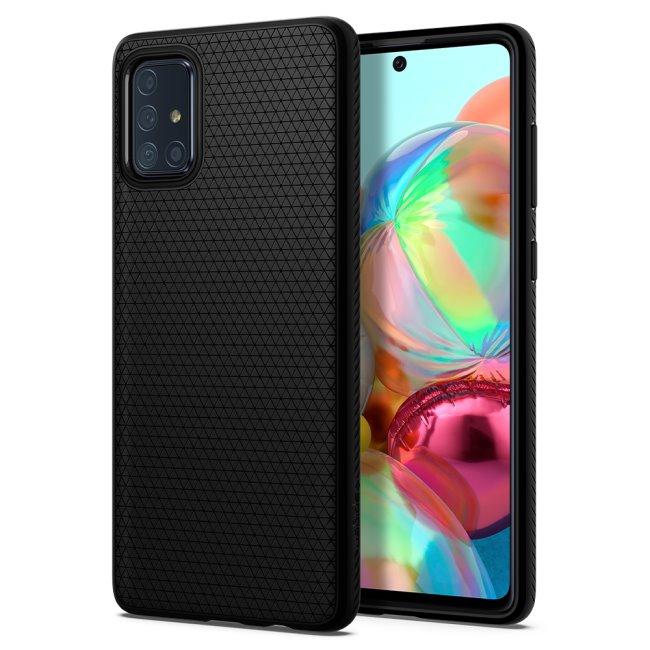 Puzdro Spigen Liquid Air pre Samsung Galaxy A71 - A715F, black