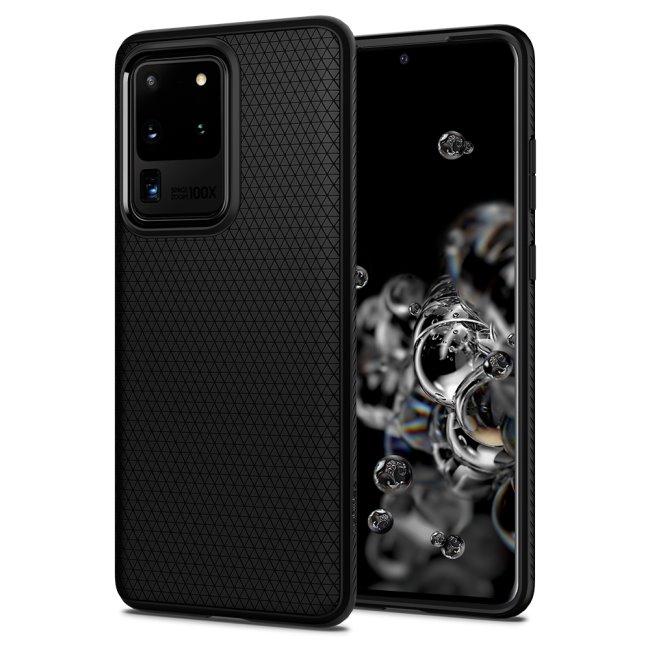 Puzdro Spigen Liquid Air pre Samsung Galaxy S20 Ultra - G988F, black