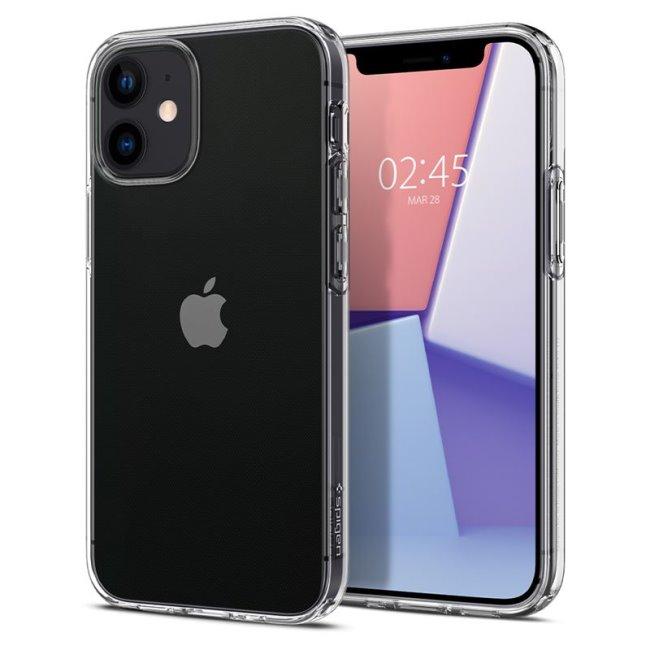 Puzdro Spigen Liquid Crystal pre Apple iPhone 12 Mini, clear ACS01740
