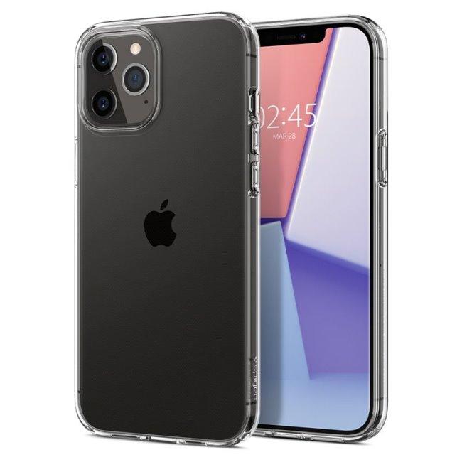 Puzdro Spigen Liquid Crystal pre Apple iPhone 12/12 Pro, clear ACS01697