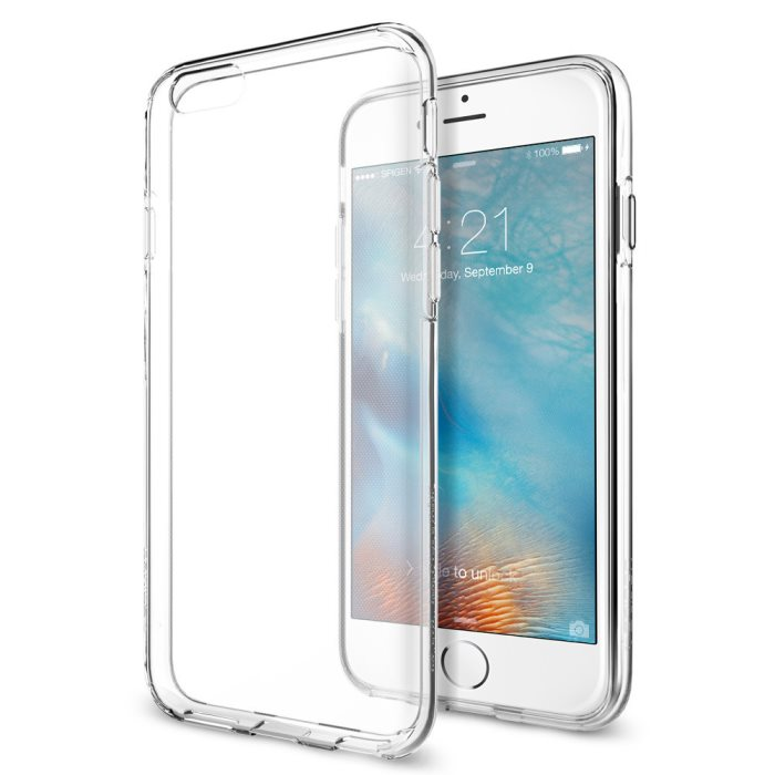 Puzdro Spigen Liquid Crystal pre Apple iPhone 6 a iPhone 6S