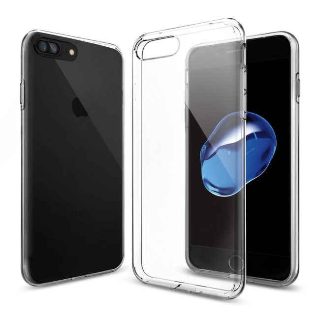 Puzdro Spigen Liquid Crystal pre Apple iPhone 7 Plus a iPhone 8 Plus, Crystal Clear 043CS20479
