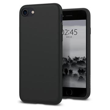 Puzdro Spigen Liquid Crystal pre iPhone 7/8, matte black