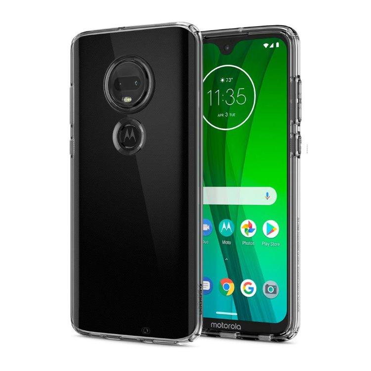 Puzdro Spigen Liquid Crystal pre Motorola Moto G7 a G7 Plus M25CS25948