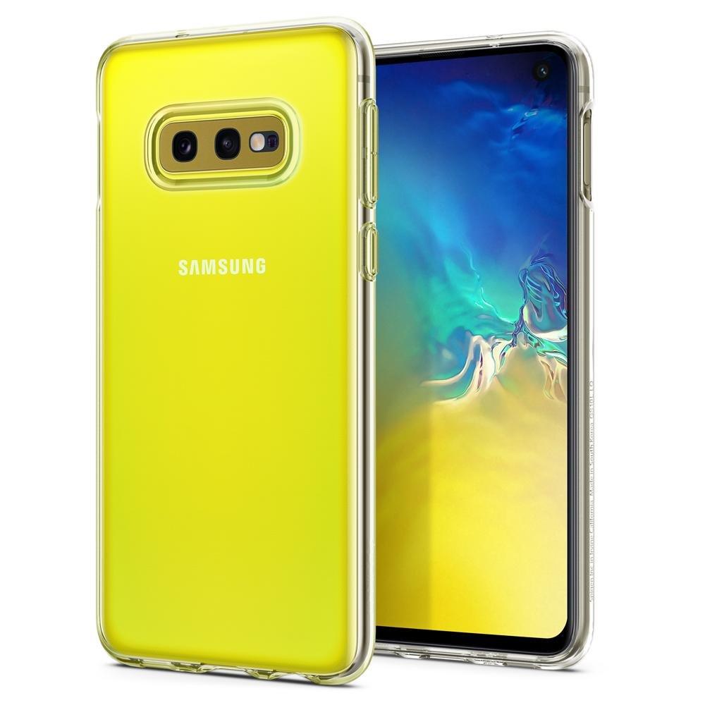 Puzdro Spigen Liquid Crystal pre Samsung Galaxy S10e - G970F, Clear