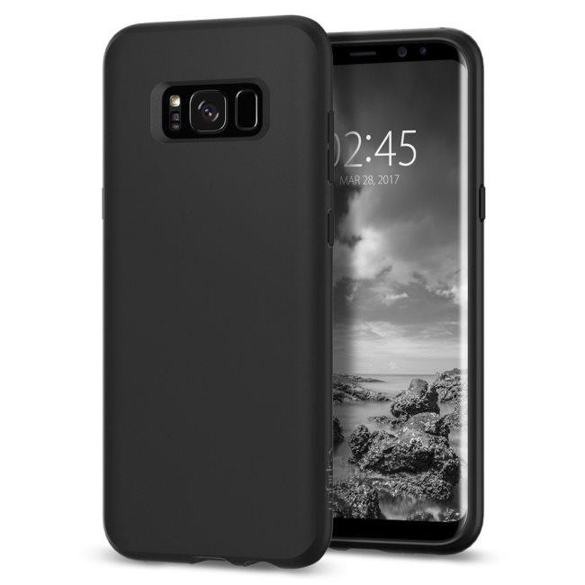 Puzdro Spigen Liquid Crystal pre Samsung Galaxy S8 Plus - G955F, Matte Black 571CS21665