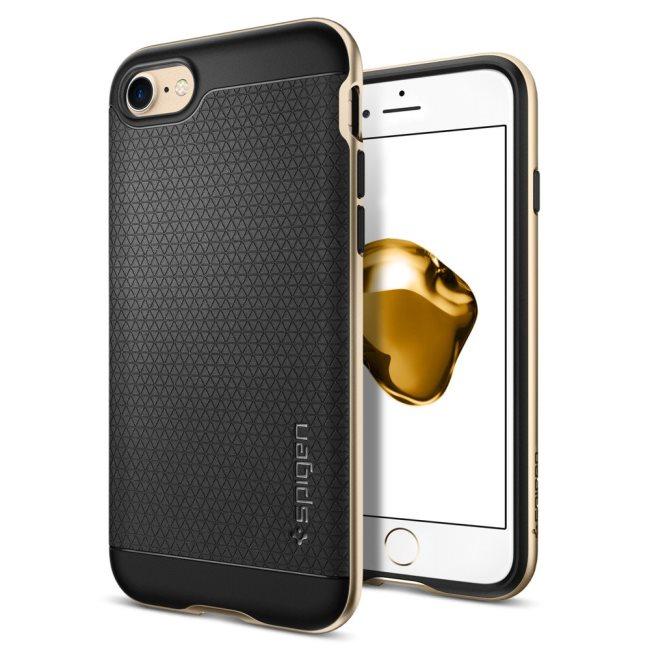 Puzdro Spigen Neo Hybrid pre Apple iPhone 7, Champagne Gold 042CS20675