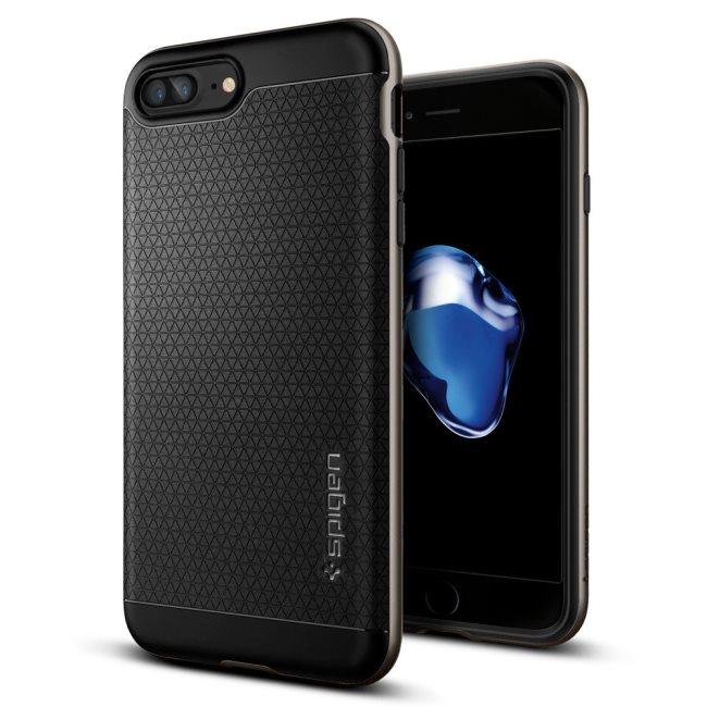 Puzdro Spigen Neo Hybrid pre Apple iPhone 7 Plus a iPhone 8 Plus, Gunmetal 043CS20535