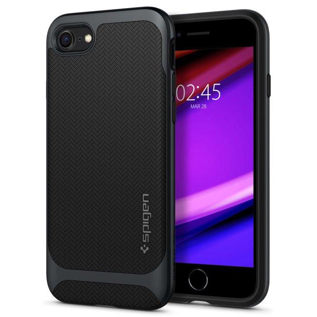 Puzdro Spigen Neo Hybrid pre Apple iPhone SE/8/7, Gunmetal