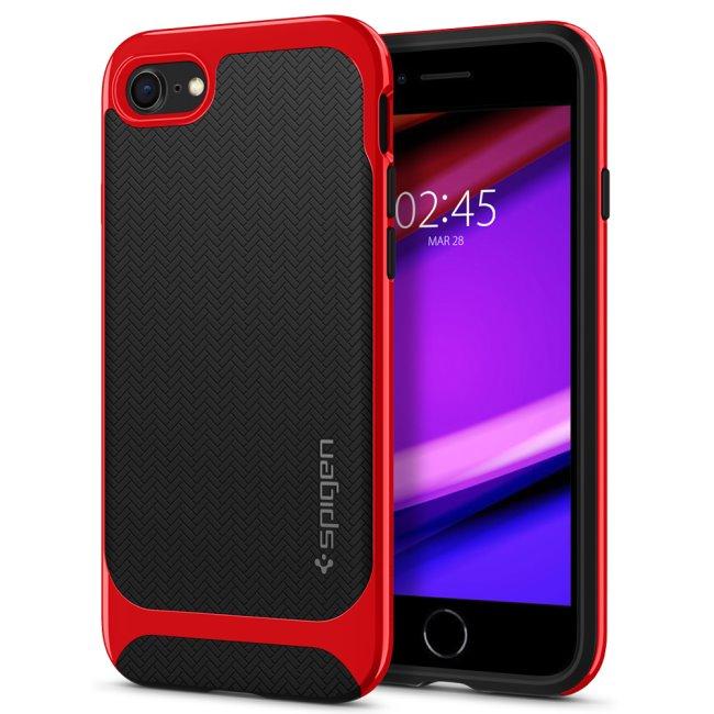 Puzdro Spigen Neo Hybrid pre Apple iPhone SE/8/7, Red