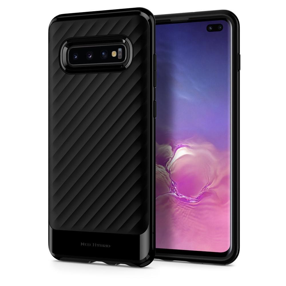 Puzdro Spigen Neo Hybrid pre Samsung Galaxy S10 Plus - G975F, Midnight Black 606CS25773