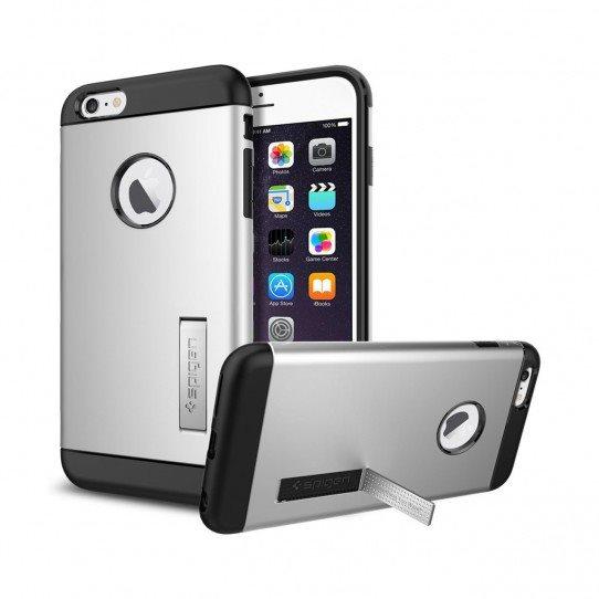 Puzdro Spigen Slim Armor pre Apple iPhone 6 Plus a 6S Plus, Satin Silver SGP11226