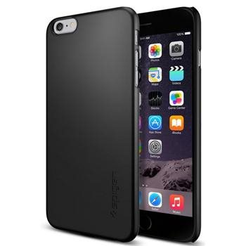 Puzdro Spigen Thin Fit pre Apple iPhone 6 Plus a 6S Plus, Smooth Black