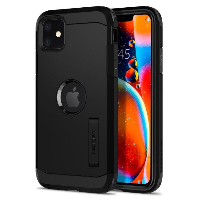 Púzdro Spigen Tough Armor Apple iPhone 11, Čierne
