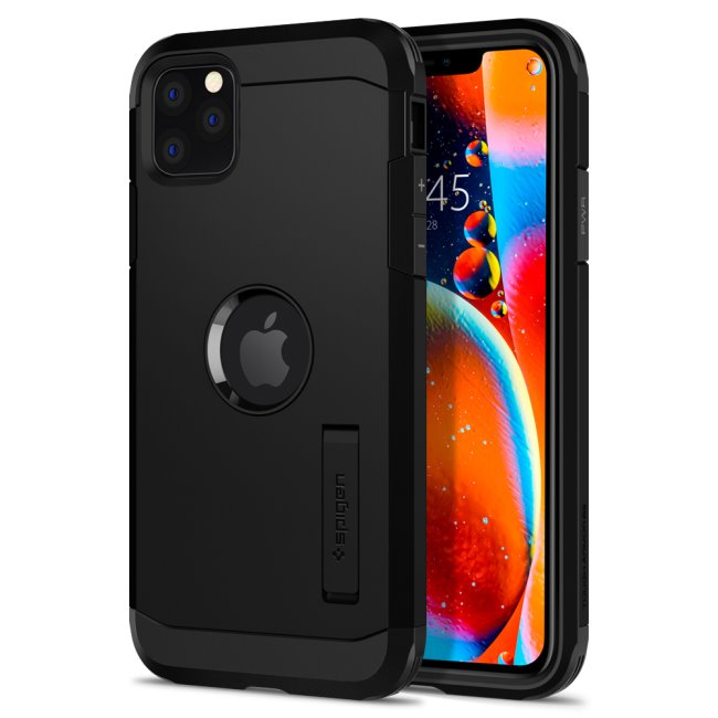 Puzdro Spigen Tough Armor pre Apple iPhone 11 Pro, Black