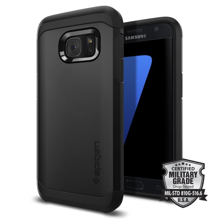 Puzdro Spigen Tough Armor pre Samsung Galaxy S7 - G930F, Black