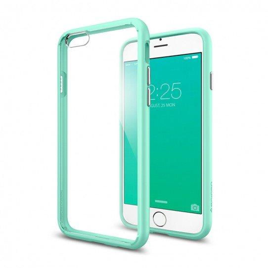 Puzdro Spigen Ultra Hybrid pre Apple iPhone 6, Apple iPhone 6S, Mint