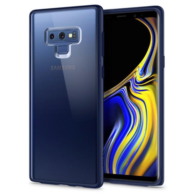 1ab694db0 Puzdro Spigen Ultra Hybrid pre Samsung Galaxy Note 9 - N960F, Ocean Blue