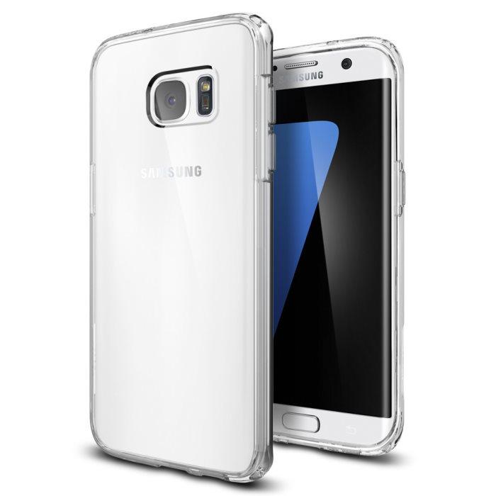 Puzdro Spigen Ultra Hybrid pre Samsung Galaxy S7 Edge - G935F, Crystal Clear