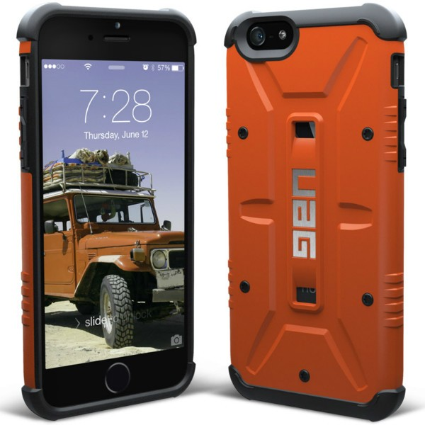 Puzdro UAG Composite Outland pre Apple iPhone 6 a 6S, Orange