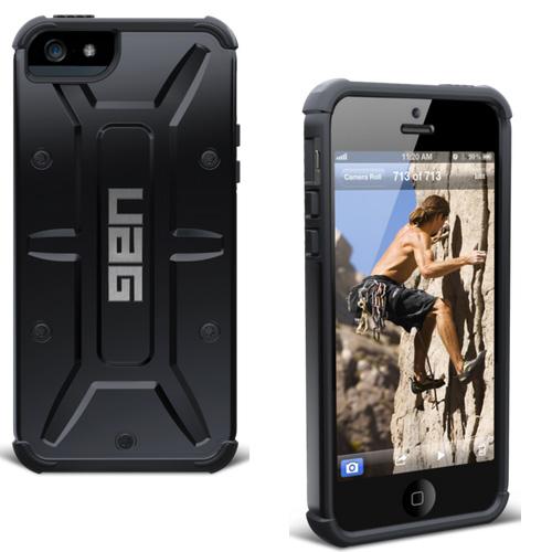 Puzdro UAG Composite Scout pre Apple iPhone 5, 5S a SE, Black IPHSE/5S-BLK