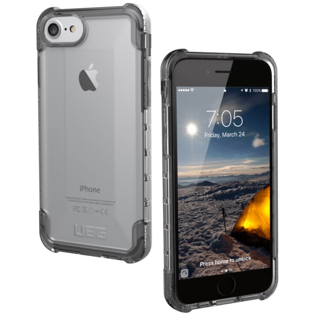 Puzdro UAG Plyo pre Apple iPhone 6S, iPhone 7 a iPhone 8, Ice IPH8/7-Y-IC