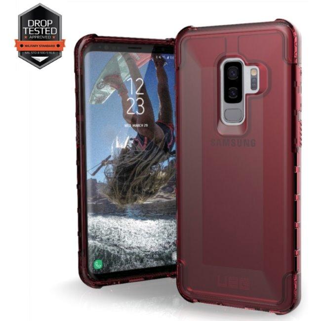 Puzdro UAG Plyo pre Samsung Galaxy S9 Plus - G965F, Crimson Red GLXS9PLS-Y-CR