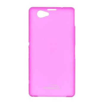 Puzdro ultra tenk� Kisswill pre Sony Xperia Z1 Compact - D5503, Pink