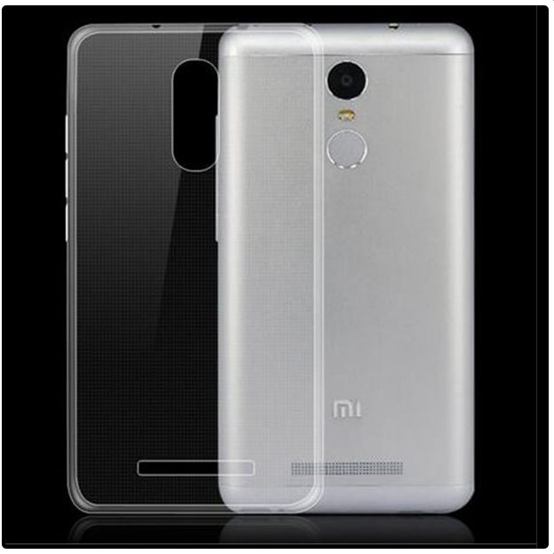 Puzdro ultra tenké pre Xiaomi Redmi Note 3, Transparent