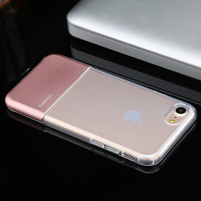 Puzdro USAMS Ease pre Apple iPhone 7 Plus, Rose Gold