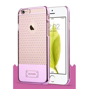 Puzdro USAMS V-Plating TPU pre Apple iPhone 6 Plus, Pink