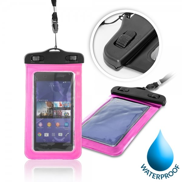 Puzdro WatterProofCase pre Alcatel OneTouch 4027D PIXI 3 (4.5), Pink