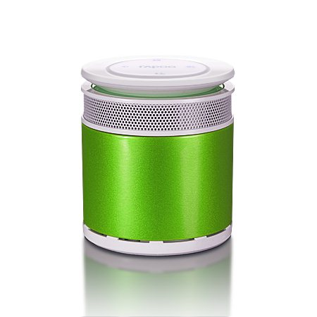 Rapoo Bluetooth Mini Portable Speaker, Green