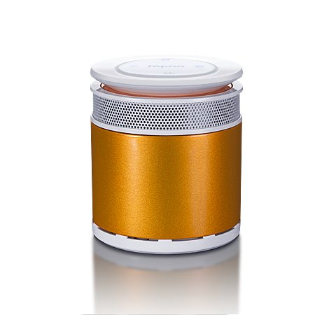 Rapoo Bluetooth Mini Portable Speaker, Orange