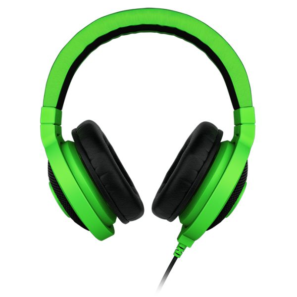 Razer Kraken Analog Music & Gaming Headphones, green