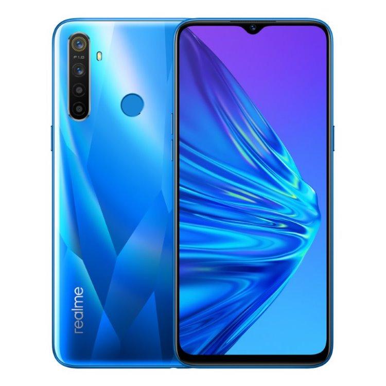 Realme 5, 4/128GB, Dual SIM, Crystal Blue - SK distribúcia