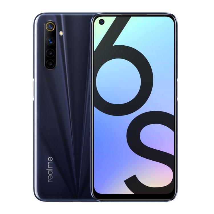 Realme 6s, 4/64GB, Dual SIM, Eclipse Black
