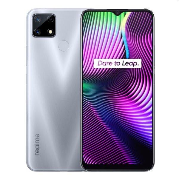 Realme 7i, 4/64GB, Dual SIM, Glory Silver