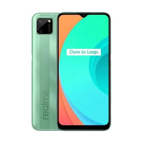 Realme C11, 3/32GB, Dual SIM, Mint Green - SK distribúcia