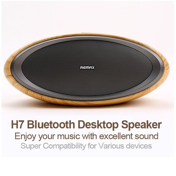 Remax RB-H7 - Hi-Fi Bluetooth Reproduktor, Wood