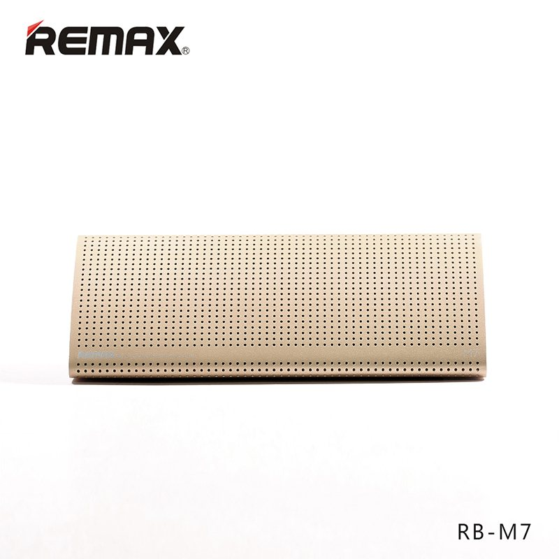 Remax RB-M7 - Bluetooth Reproduktor Gold