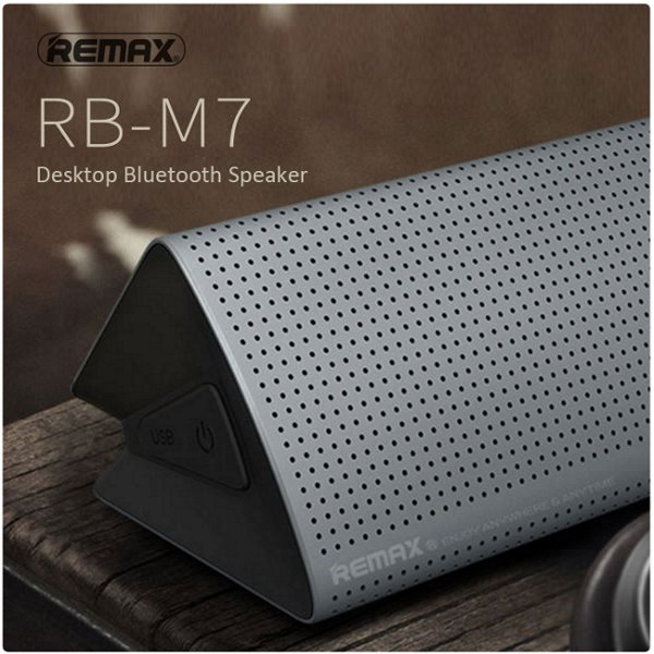 Remax RB-M7 - Bluetooth Reproduktor, Silver