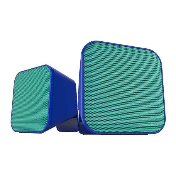 Reproduktory Speedlink Snappy Stereo Speakers, blue-turquoise