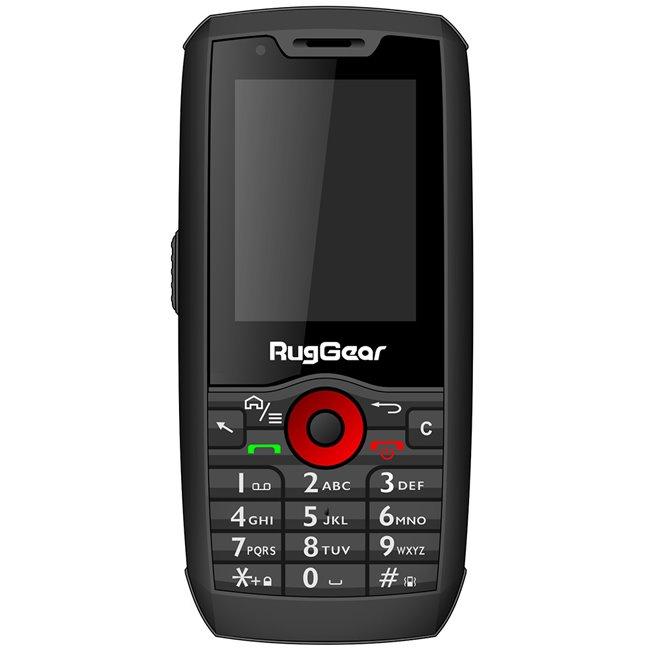 RugGear RG-160 Pro, Dual SIM, Black - použitý, trieda A, záruka 12 mesiacov