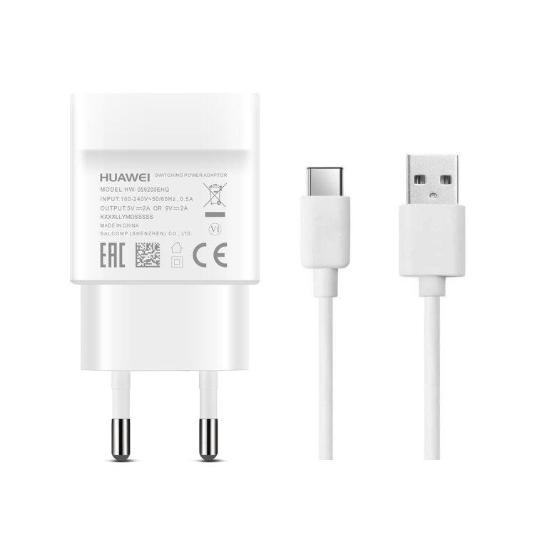 Rýchlonabíjačka Huawei AP32 SuperCharge (18W) s USB-C káblom, White