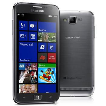 Samsung Ativ S i8750, Windows Phone 8, BlackSilver